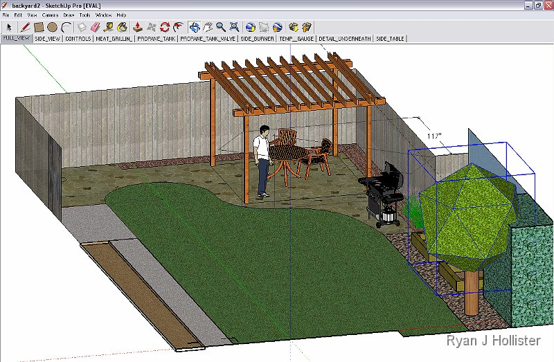 Click Here To Return To Diy Page Pergola Sketchup