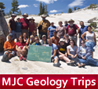 Geology trips & adventures with Modesto JC